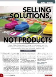 Selling Solutions, Not Products – F&I and Showroom