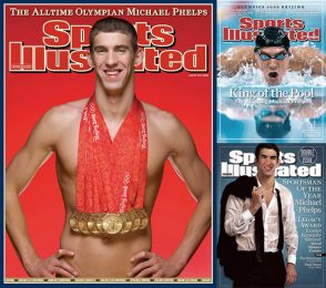 Michael Phelps Sports Illustrated Covers