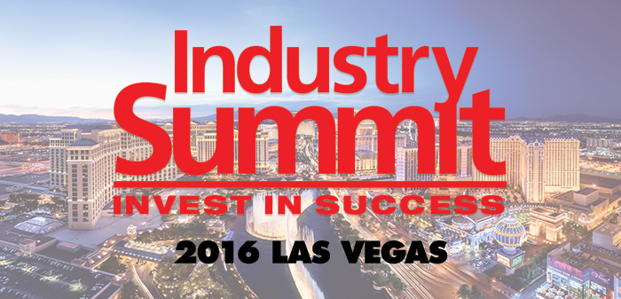 See Rick McCormick at the 2016 Industry Summit in Las Vegas